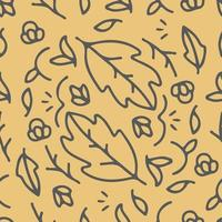 Seamless hipster floral vector pattern background. Design for fabric