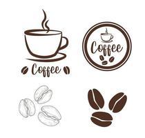 Coffee Cup Logo Design vector