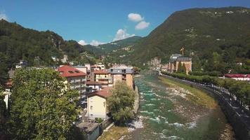 San Pellegrino Terme and the Brembo river video