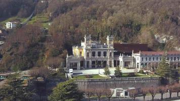 casino van san pellegrino terme gezien door drone video