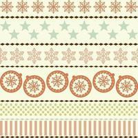 Winter Christmas New Year Seamless Pattern Beautiful Texture vector