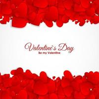 Valentine s Day Heart Symbol. Love and Feelings Background vector