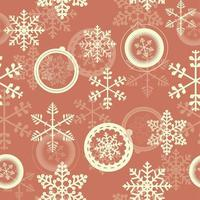 Winter Christmas New Year Seamless Pattern. Beautiful Texture vector