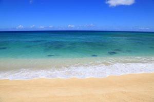 View of Lanikai Beach Hawaii photo