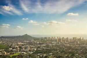 View of Waikiki Beach Honolulu Hawaii photo