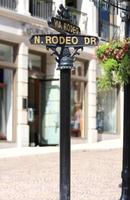 Rodeo Drive Directions Sign photo