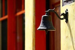 Coloridas campanas en Los Ángeles, EE. UU. foto