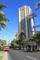 Kalakaua Avenue Waikiki Hawaii photo