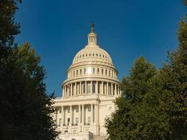 edificio del capitolio de los estados unidos en washington dc foto