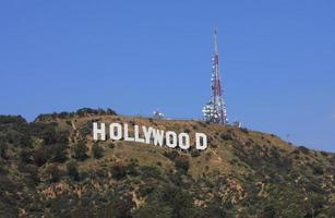 Hollywood sign Los Angeles photo