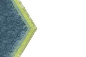 Abstract blue and gradient green shapes background vector