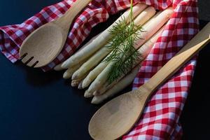 espárragos officinalis una verdura saisonal foto