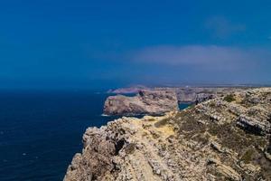 Coastline of Algarve Portugal photo
