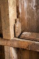 Old Dusty Bottle in An Old Grist Mill in West Virginia photo