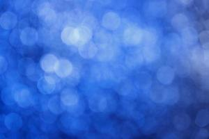 Blue abstract blurry background with highlights photo