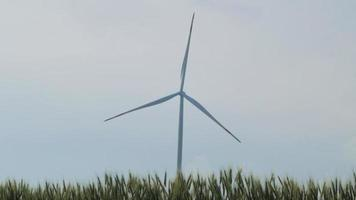 windmills for electric power production video