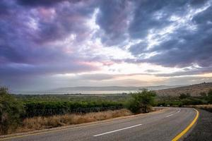 A crazy sunset in Israel Views of the Holy Land photo