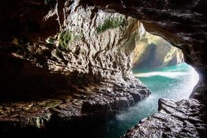Cave in Israel photo