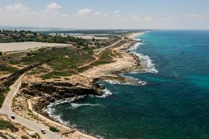 Seascape in Israel photo