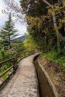 Rec del Sola path that connects the City of Escaldes En photo