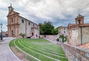 The Horszowski Auditorium, Monforte d'Alba, Langhe Italy. UNESCO Site. photo