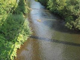 río wupper en wuppertal foto