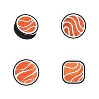 sushi japan Vector icon design illustration