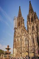 catedral de colonia, alemania foto