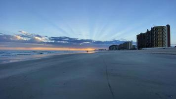 Beach Condos Sunset Landscape photo