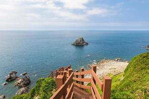 Scenery from the top of Keelung islet photo