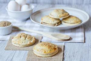 Apple Hand Pies With Eggs and Raw Sugar photo