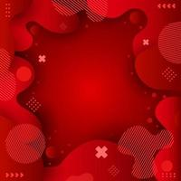 Beauty Red Background vector