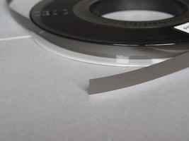 carrete de cinta magnética para almacenamiento de datos informáticos foto