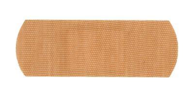 Band aid bandage isolated over white photo