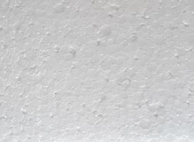 White expanded polystyrene plastic texture background photo