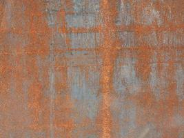 Rusted steel metal texture background photo