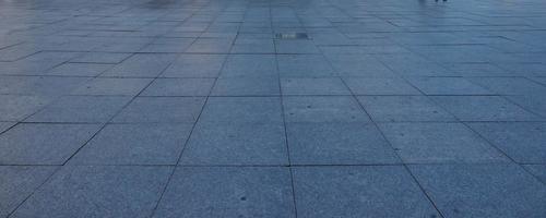 Tiled stone floor background photo