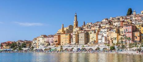 Menton on the French Riviera, named the Coast Azur photo