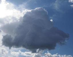 fondo de cielo tormentoso foto