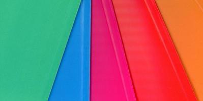 fondo de textura de papel multicolor foto