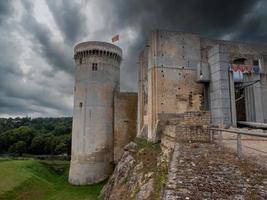 Castle Dungeons , Falaise, Calvados, Normandy, France. photo