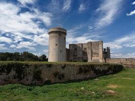 Castle Dungeons Chateau Falaise, Calvados, Normandy, France. photo