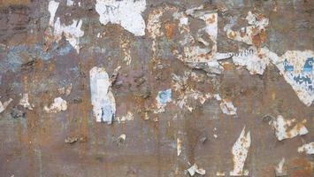 Retro vintage texture rusted metal iron broken paper background image photo