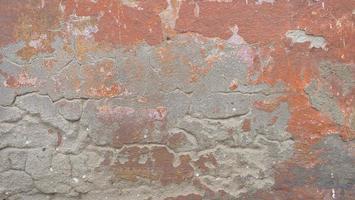 Imagen de fondo de textura de ladrillo rojo de hormigón retro vintage foto