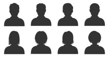 person icon vector. male and female icon vector