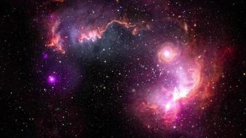 voyage dans l'espace le petit nuage de magellan galaxie video