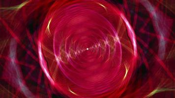 luce di vortice psichedelico rosso giallo grunge. video