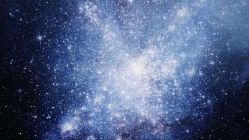 The Small Magellanic glowing Cloud Galaxy exploration on deep space. video