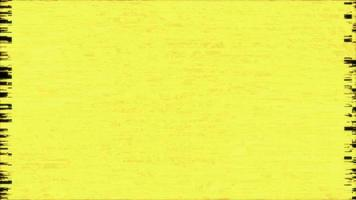 Grunge glow yellow texture animation in stop motion effect video
