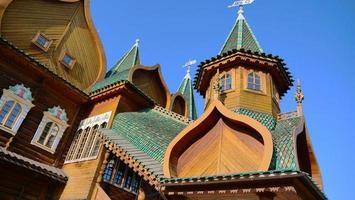 palacio del zar alexey mikhailovich en kolomenskoye, moscú, rusia foto